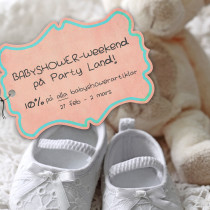 BABYSHOWER WEEKEND 27 feb – 2 mars