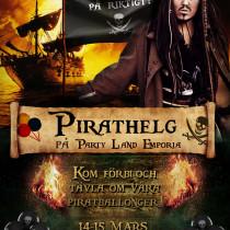 Pirathelg 14-16 mars